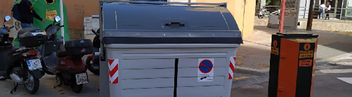 La Vila Joiosa instala 40 nuevos contenedores metálicos para depositar residuos sólidos urbanos