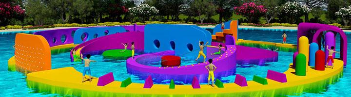 Amusement Logic presenta un concepto de una Isla flotante interactiva: Sea Island