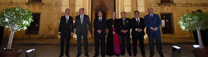 Inaugurada la nueva iluminación exterior del Monasterio de Uclés, en Cuenca
