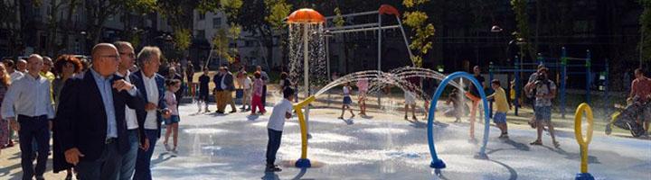 Ourense inaugura el nuevo parque infantil de Alameda do Cruceiro, el primer parque inclusivo de Galicia