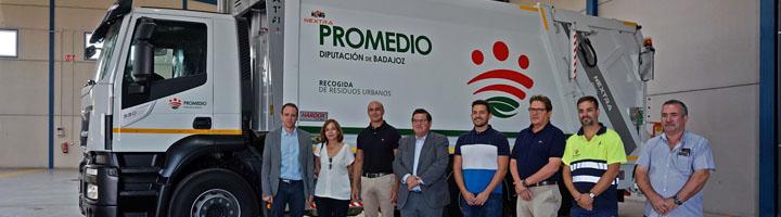 Promedio estrena en Zafra nuevo centro de operaciones y camión recolector para la recogida de residuos