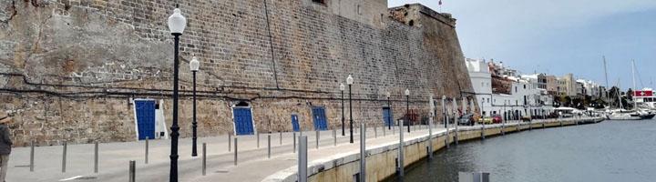 Finalizan las obras de reforma integral del puerto interior de Ciutadella