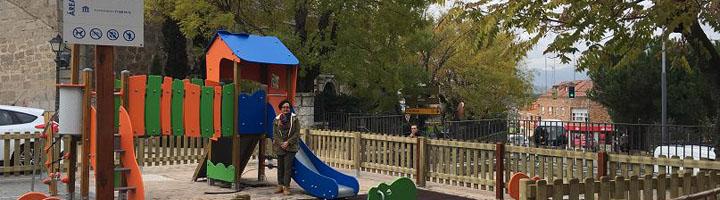 Colmenarejo realiza trabajos de remodelación en los parques infantiles del municipio para mejorar su seguridad