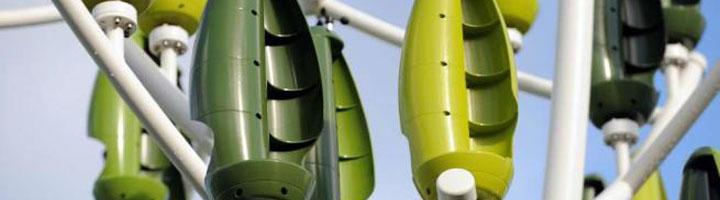 El árbol de viento. Una innovadora fuente de energía eólica para la ciudad