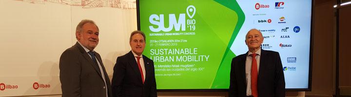 El congreso SUM Bilbao 19 convertirá a la villa en capital mundial de la movilidad urbana sostenible