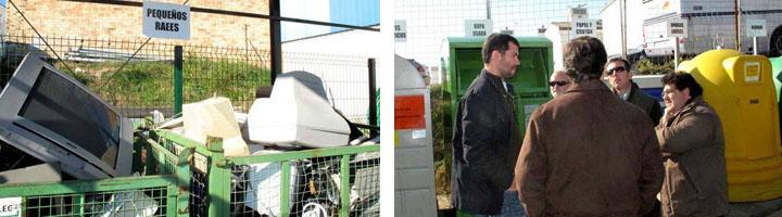 Medio Ambiente construye un punto limpio de recogida de residuos en el municipio sevillano de Pilas