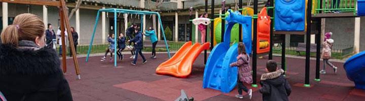 Benavente continúa el plan de renovación de parques infantiles con la apertura del parque de Santa Clara