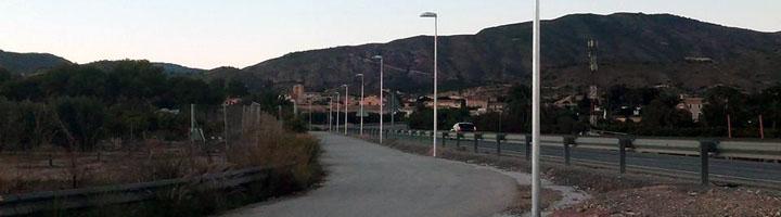 La Vila Joiosa mejora el alumbrado en varios caminos públicos del municipio