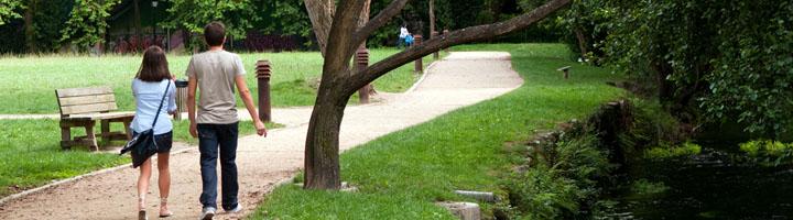 Pontevedra incorpora una nueva parcela al parque Gafos de María Victoria Moreno