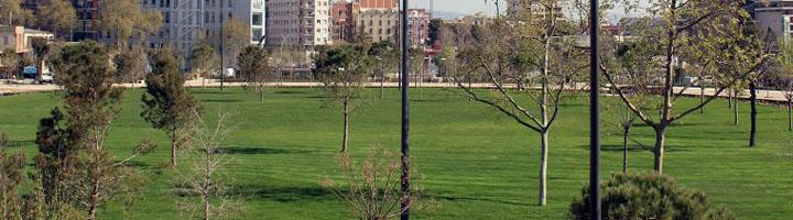 Barcelona finaliza las obras del parque de las Glòries y la Meridiana