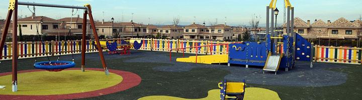 Villaviciosa abre un nuevo parque público con la primera zona infantil con juegos de inclusión del municipio