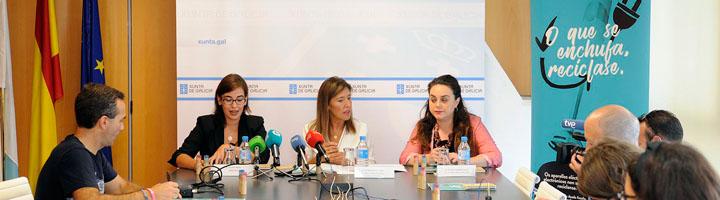 La Xunta de Galicia inicia una campaña infantil para fomentar el reciclaje de RAEE en 350 centros educativos