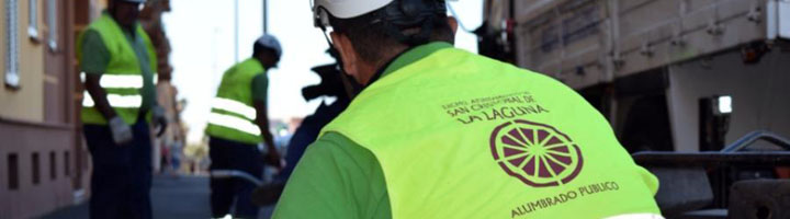 La Laguna adjudica el nuevo contrato de conservación y mantenimiento de alumbrado público