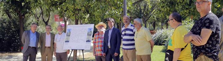 Sevilla inicia la renovación integral de la iluminación del Parque Amat y construirá casi 650 alcorques para mejorar la arboleda