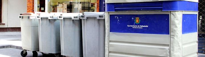 Valladolid pone en marcha un servicio de recogida de residuos puerta a puerta dirigido a los comercios del centro