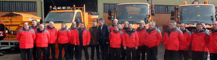La Diputación de León presenta el Plan de Vialidad Invernal 16/17 para paliar los problemas en las vías de comunicación de la provincia