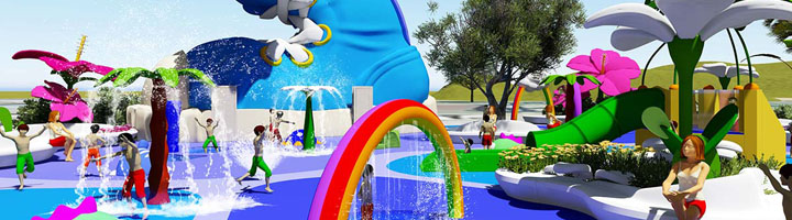 Amusement Logic reforma el parque público Colosse en el municipio de Saint André, Isla Reunión