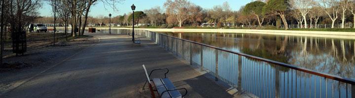 Madrid finaliza la rehabilitación del lago de La Casa de Campo y su entorno