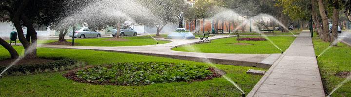 Málaga invierte 875.000 euros en la mejora de las infraestructuras hidráulicas para el riego de jardines