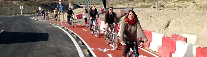 La vía ciclista Úbeda-Baeza entra en servicio con 8,5 kilómetros y una inversión de dos millones de euros