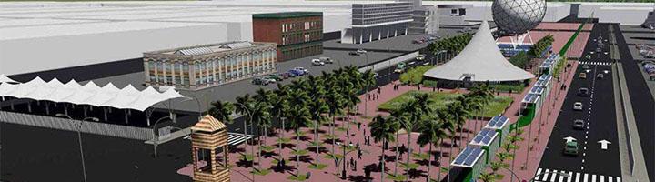 El proyecto CartujaQanat propone reactivar el diseño bioclimático que la Expo 92 implantó en la Isla de la Cartuja