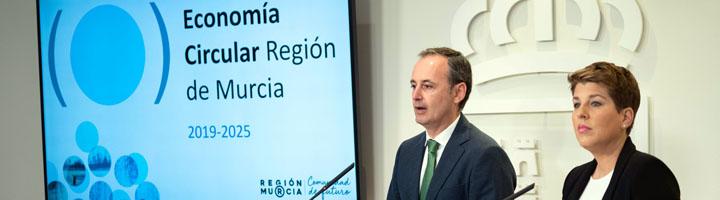 La Estrategia de Economía Circular de la Región de Murcia contempla 51 medidas y 510,4 millones de inversión hasta 2025