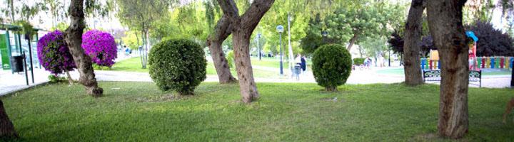 Osuna instala sistemas de riego inteligentes en varios parques de la localidad