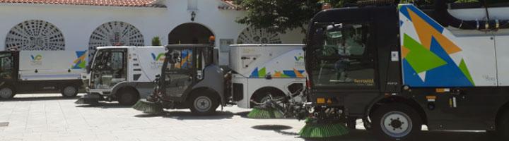 Ferrovial Servicios renueva su contrato de limpieza urbana en Villanueva de la Cañada