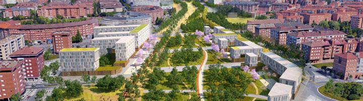 Vitoria-Gasteiz coserá con un gran corredor verde los espacios liberados por el soterramiento del tren