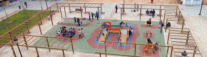 COCEMFE CV apuesta por el diseño universal en el parque infantil del barrio Nou Moles en Valencia