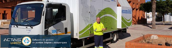 Ecocomputer digitaliza los ecoparques del Consorci Residus Ribera i Valldigna