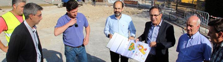 Comienza la construcción del primer parque infantil de integración de Torrelavega, en Nueva Ciudad