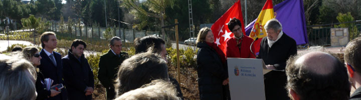 Pozuelo de Alarcón inaugura un nuevo parque en Húmera con el nombre