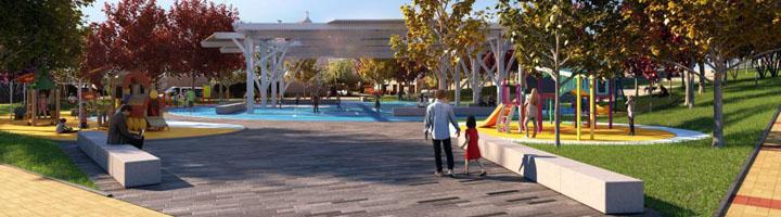 Salamanca inicia las obras del nuevo parque de Huerta Otea