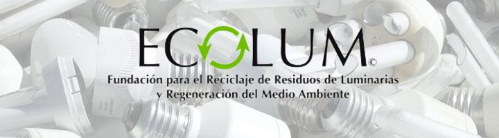 ECOLUM va más allá en el reciclaje de aparatos de iluminación