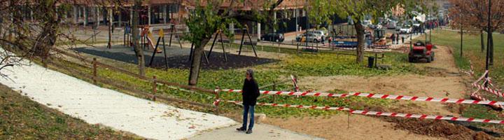 Zamora acomete mejoras en varios parques de la ciudad