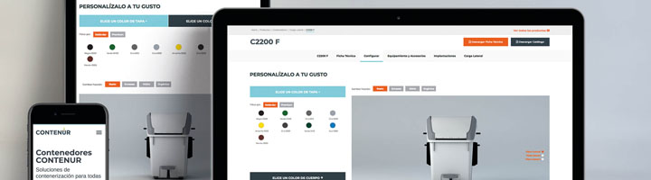 CONTENUR refuerza su presencia online con su nueva página web
