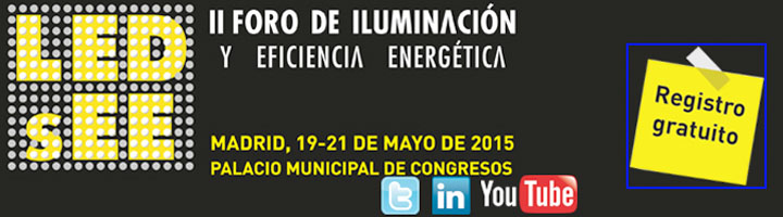 LEDsEE volverá a ser la gran cita de la eficiencia energética del sector de iluminación en España