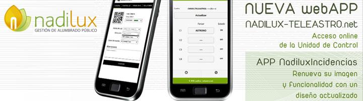 El mantenimiento y la telegestión del alumbrado público mediante herramientas app