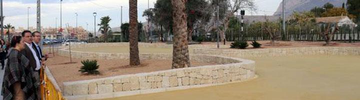 Benidorm abrirá al público en unos días la ampliación del parque de Els Ametlers