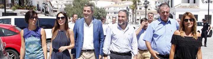 La Diputación de Málaga invertirá un millón de euros para mejoras urbanísticas en Mijas