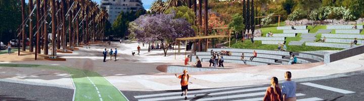 La Diputación de Málaga invierte 1,7 millones en la transformación de Arroyo Primero en un bulevar de Marbella