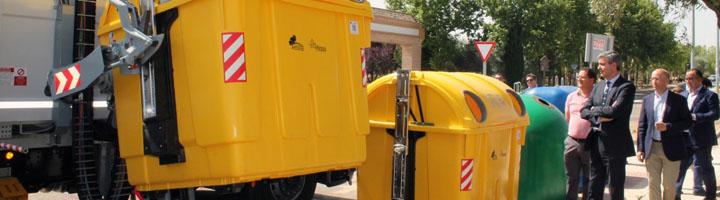 La Diputación de Toledo moderniza el sistema de recogida de residuos haciéndolo más rápido, limpio y seguro