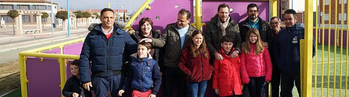 Valladolid inaugura dos pistas multijuegos en Puente Duero y Covaresa