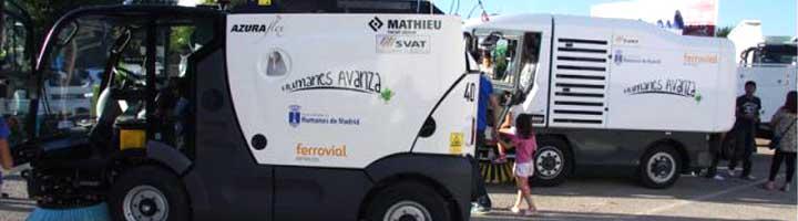 Humanes ya cuenta con nuevos vehículos para limpieza viaria y recogida de basuras