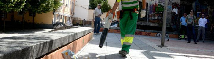 Cuenca incorpora al servicio de limpieza nueva maquinaria y material más eficaces y silenciosos