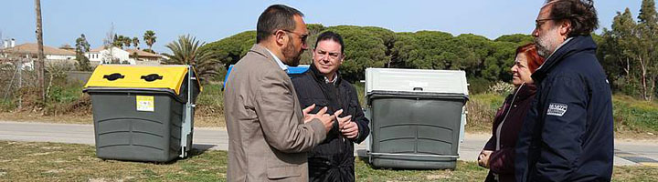 Chiclana Natural y Urbaser amplían los servicios de recogida de residuos a nuevas zonas