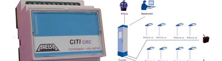 Arelsa desarrolla un sistema parea el control de robo de cables en instalaciones de alumbrado exterior