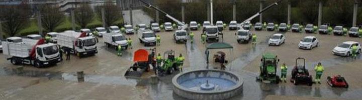 Oviedo incorpora la vanguardia de la 'tecnología verde' al mantenimiento de sus zonas
