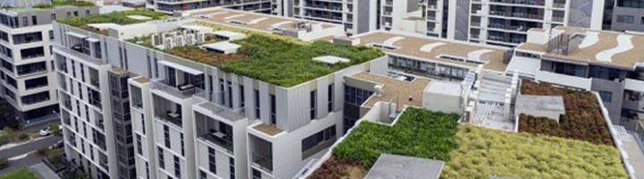 Los espacios verdes se encaraman a las azoteas creando beneficios medioambientales para la ciudad